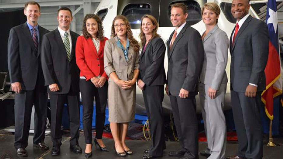 Next class of astronauts land at Johnson Space Center