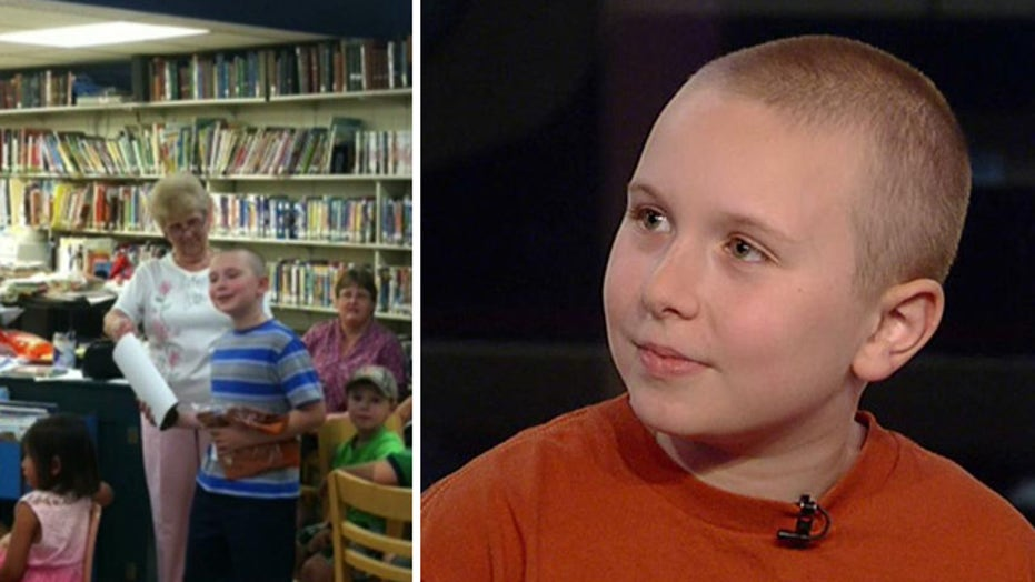9-year-old reading champ punished for winning too much?