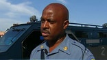 After Attorney General Holder's visit, the violence subsides enough for Missouri Gov. Nixon to order the National Guard's withdrawal. But is it premature? Highway Patrol Capt. Ron Johnson gives 'OTR' a brief tour. Ferguson