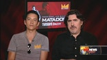 Alfred Molina and Gabriel Luna, stars of El Rey's Matador opened up about the intense spy thriller.