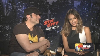 Jessica Alba, Robert Rodriguez Dish On 'Sin City: A Dame To Kill For'