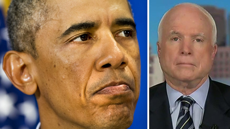 Sen. McCain on ISIS threat: Obama 'still doesn't get it'