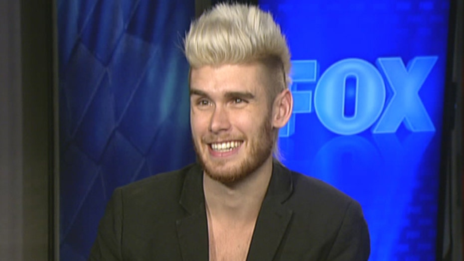 Christian singer Colton Dixon talks about faith and fame