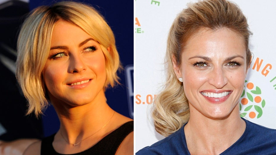 Erin Andrews reacts to Julianne Hough news