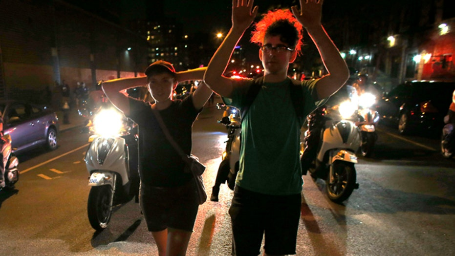No arrests or tear gas used in Ferguson protests overnight