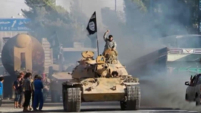 Military brass, ex-officials pressure White House to expand ISIS fight to Syria