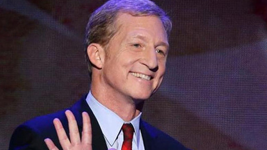 Liberal billionaire Tom Steyer's bizarre ads need fact check