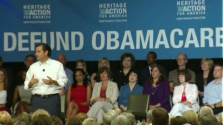 Heritage action pushing to defund ObamaCare on tour