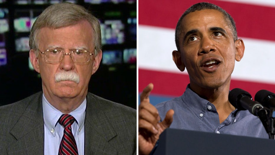 Amb. Bolton: Issuing the red line in Syria was a mistake