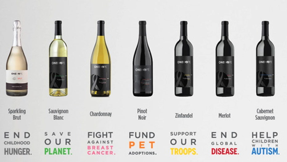 Support your favorite charity by drinking wine