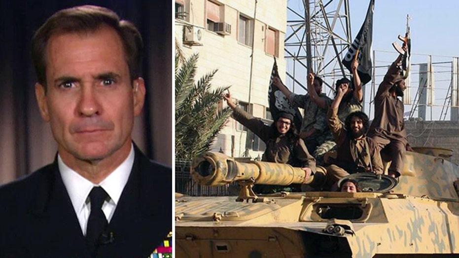 Pentagon: 'Airstrikes alone' won't eliminate ISIS threat