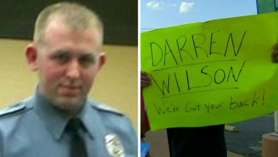 Officer Darren Wilson supporter speaks out