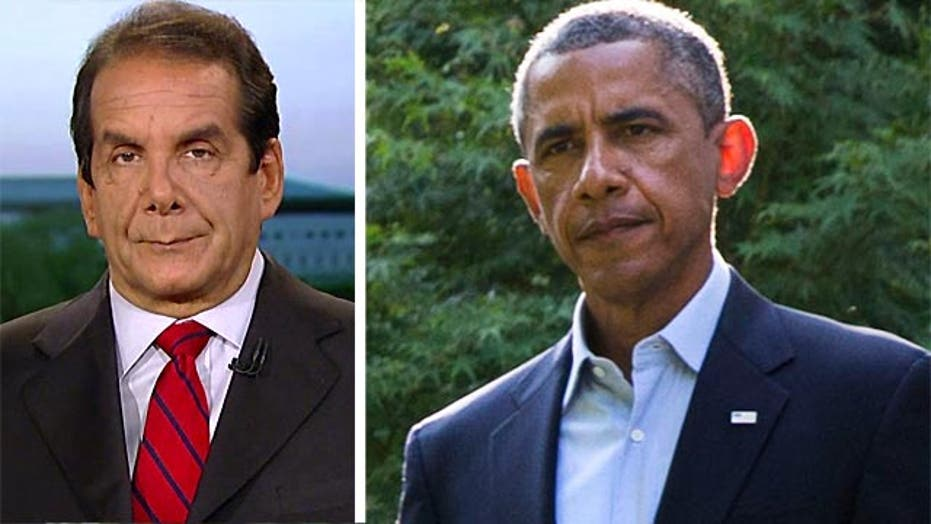 Krauthammer:  'the president simply can't decide'