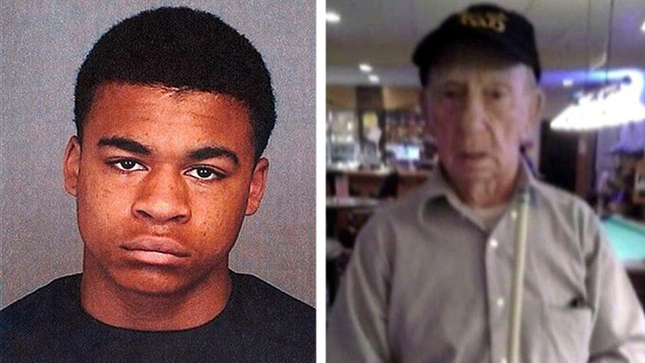 Second suspect arrested in death of WWII veteran