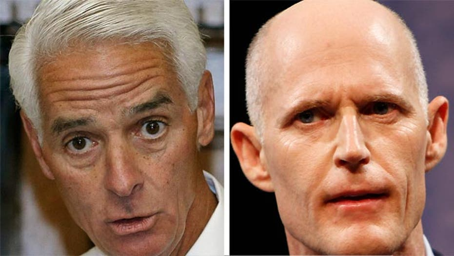 Can Crist make comeback against Scott for Florida governor?