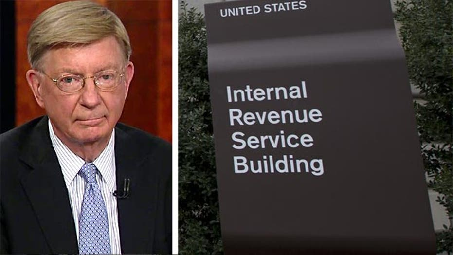 """George Will: IRS is """"off the rails"""" and corrupted"""""""