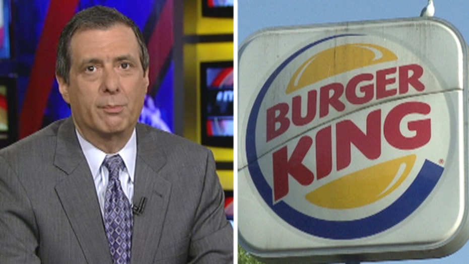 Kurtz on Burger King: Media wake up to corporate chicanry