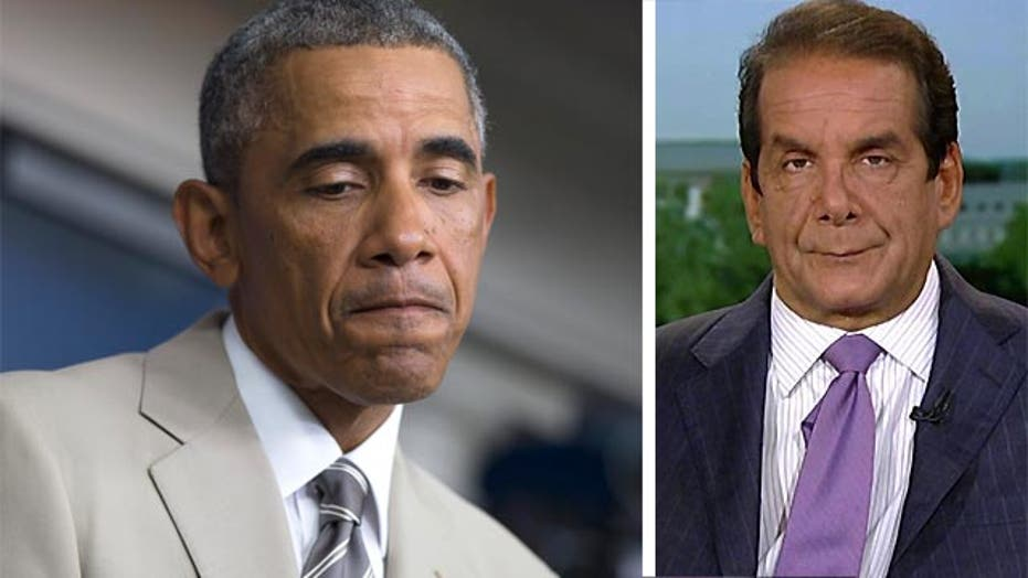 Krauthammer: Obama strategy is to