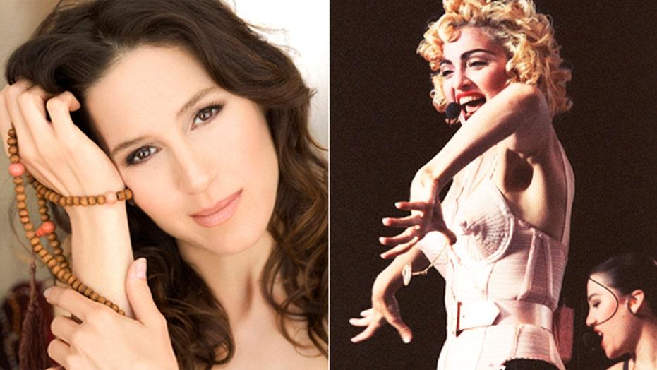 Madonna singer finds religion