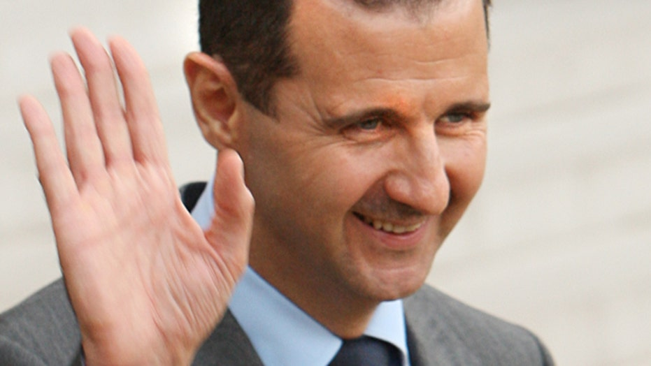 How would Assad regime respond to US strike?