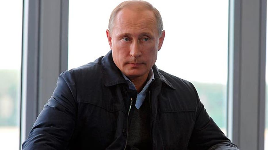 Russian President Putin warns US and its allies