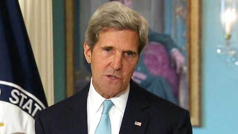 Kerry: 'We know' Assad regime used chemical weapons