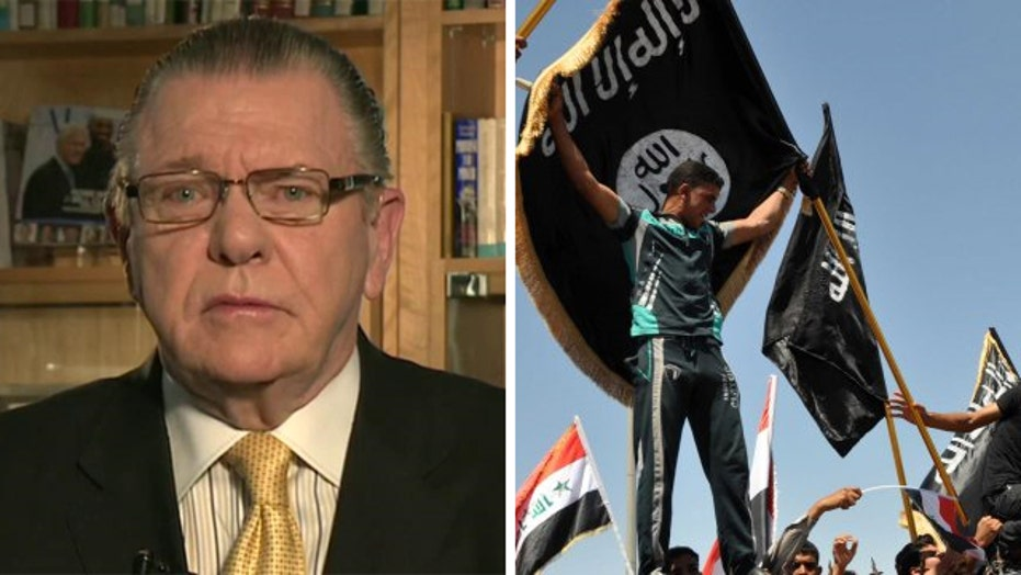 Gen. Keane outlines a plan to defeat ISIS