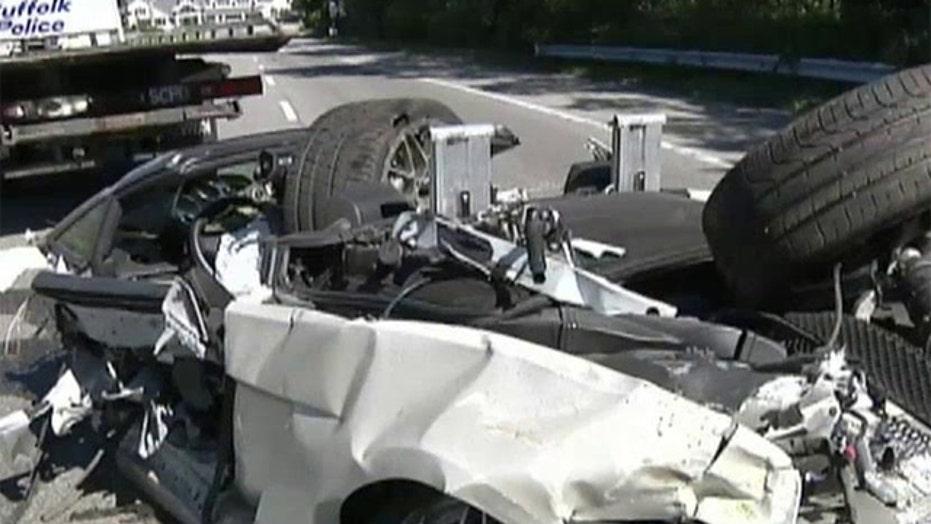 Teen dies in Lamborghini crash