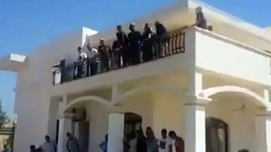 Militants overtake US embassy in Libya