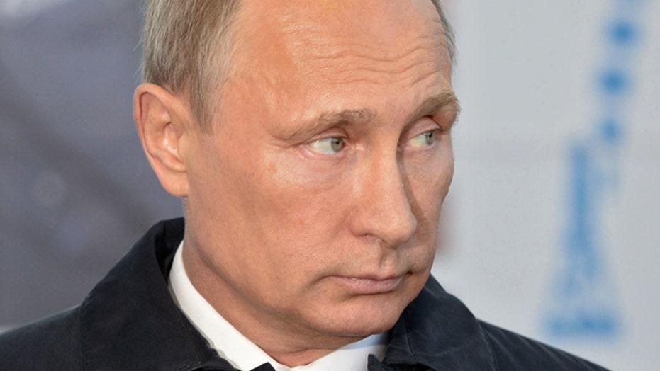 Putin brags Russian military can 'take' Kiev in two weeks