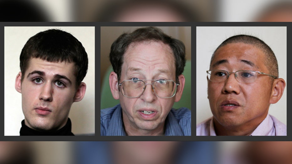 North Korea allows detained Americans to speak to media