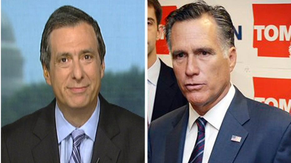 Kurtz: Media clamor over potential Romney presidential run