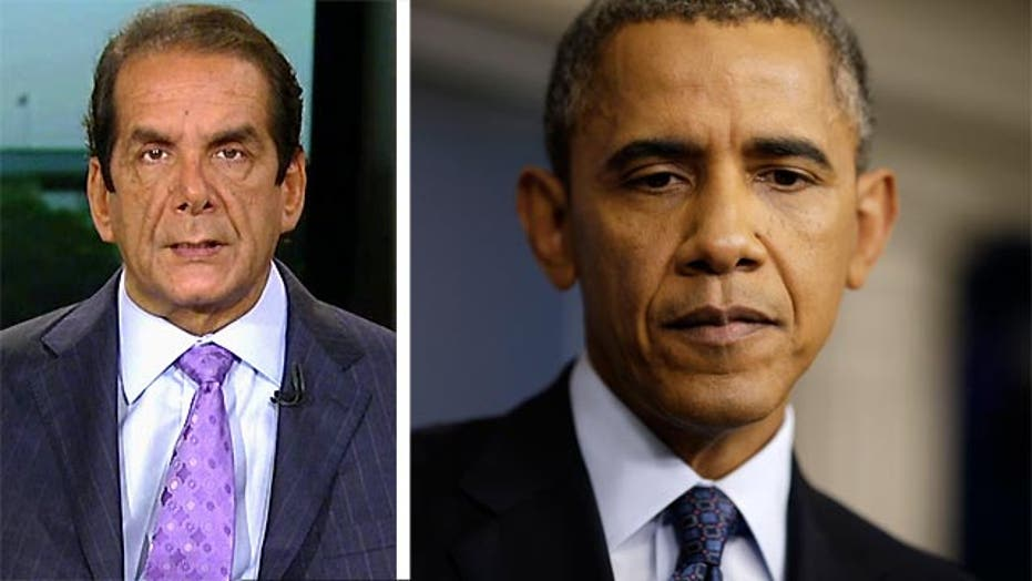 "Krauthammer:  Obama ""hasn't begun"