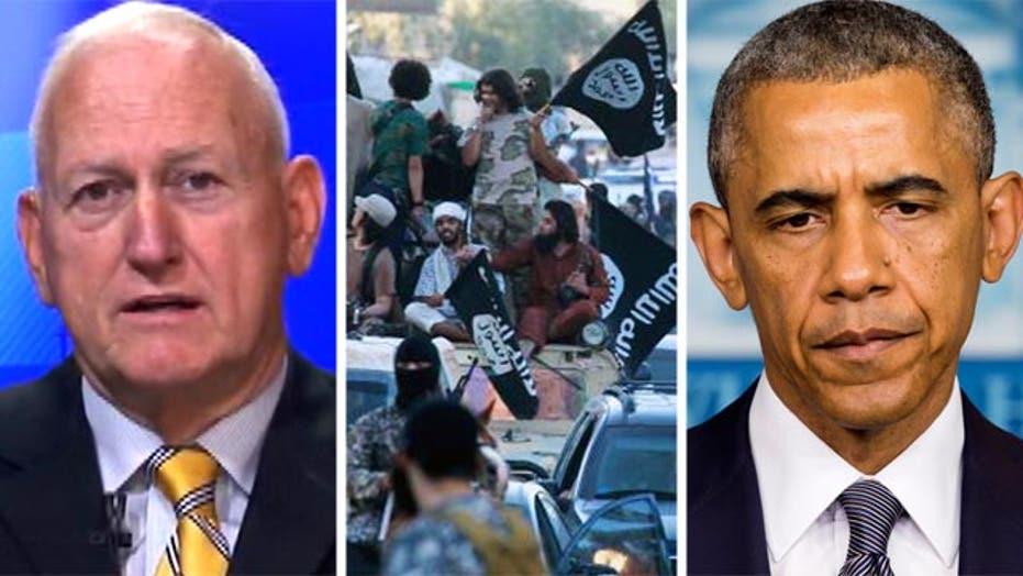 Lt. Gen. Jerry Boykin: ISIS is 'challenging' President Obama
