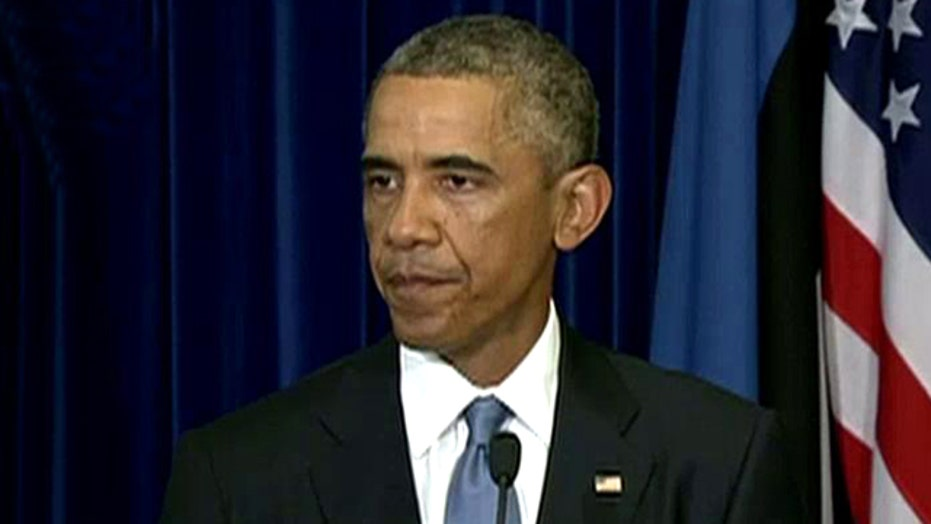 Obama: Prayers of American people are with Sotloff family