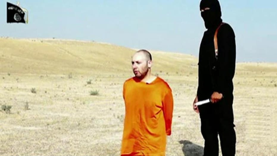 Outcry online to avoid showing Sotloff beheading video