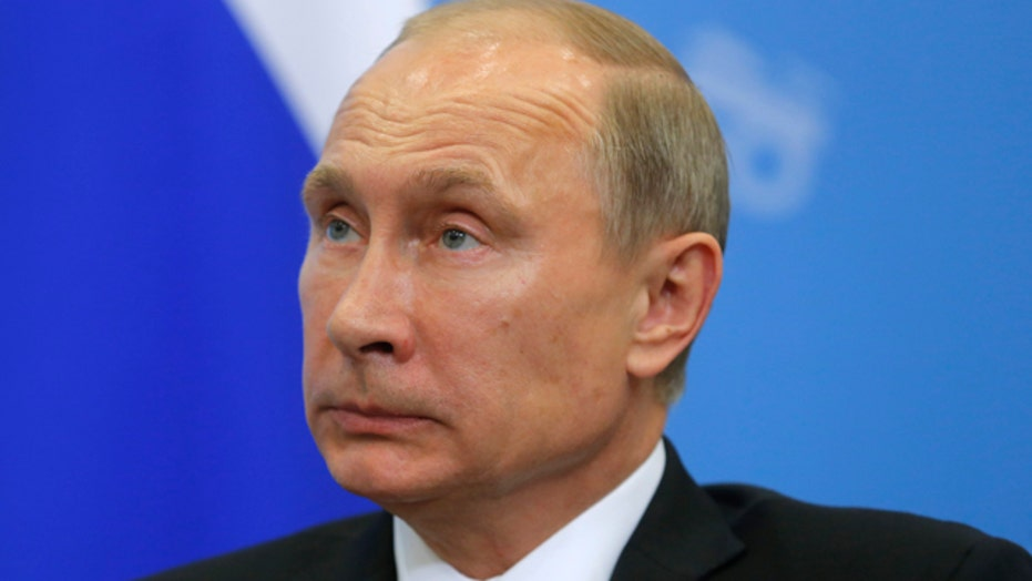 What is Putin's goal in Syria?