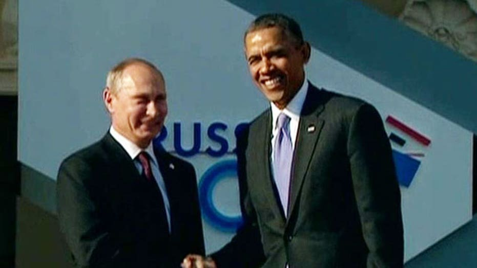 Presidents Obama, Putin face off at G20 summit