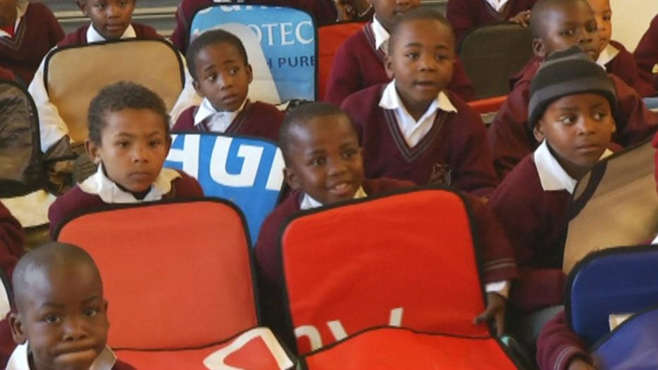 Simple innovation helps Africa's school kids learn