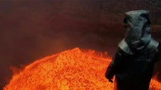 Toxic gas burned skin, stung eyes