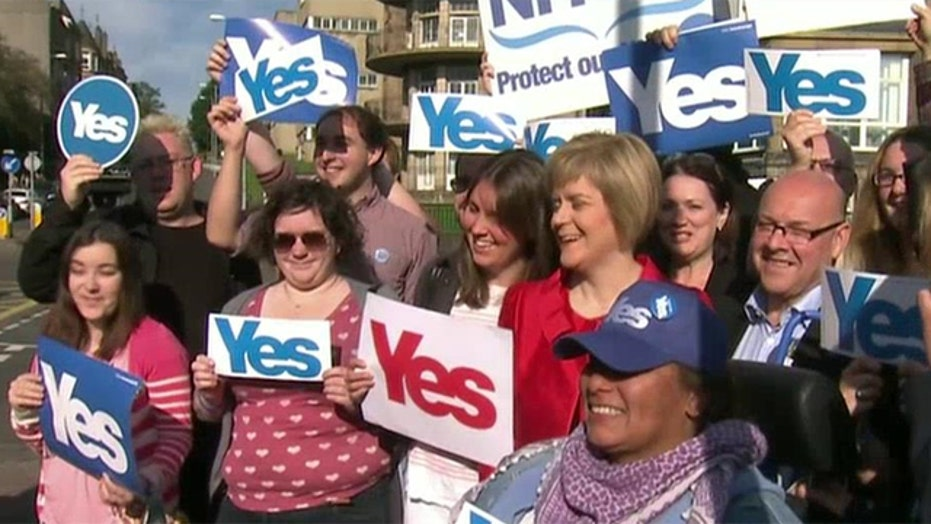 Scotland to vote on independence from the U.K.