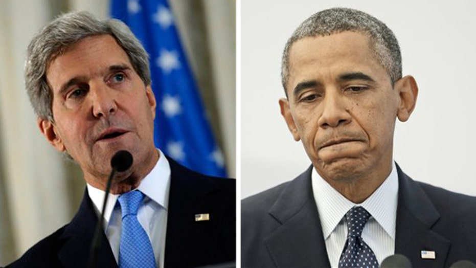 Obama administration presenting mixed message on Syria