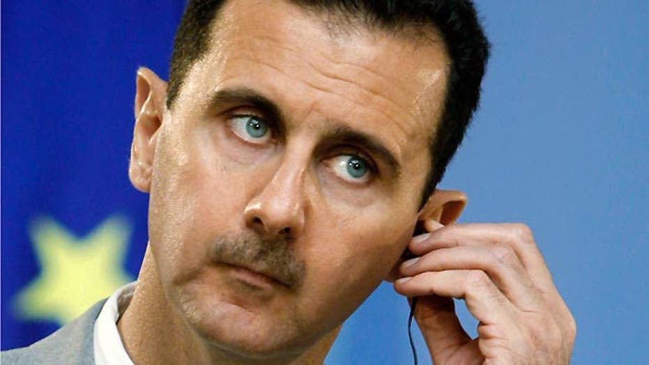 How would Syria respond to a strike from the U.S.?
