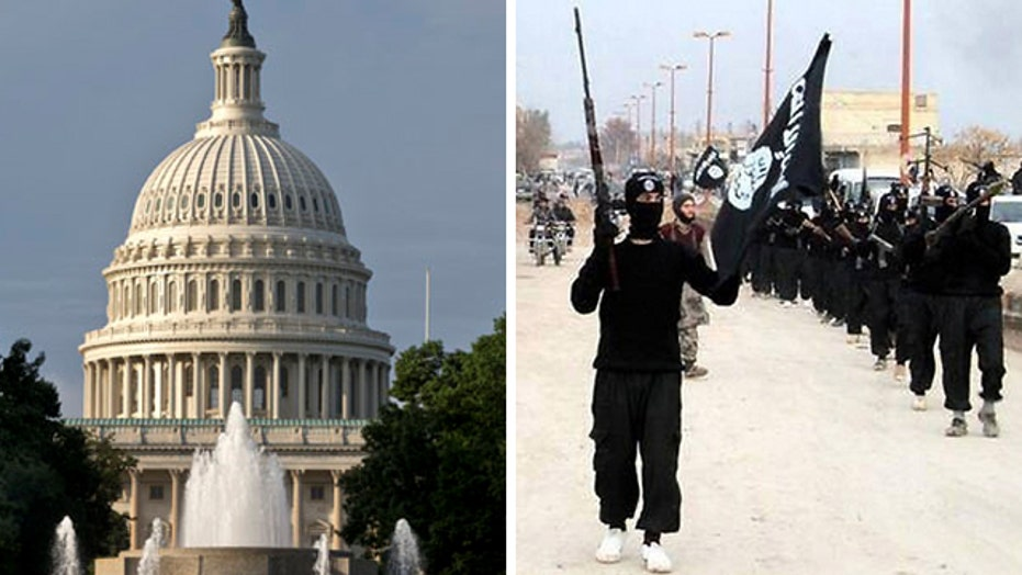 Obama meets with congressional leaders over ISIS threat