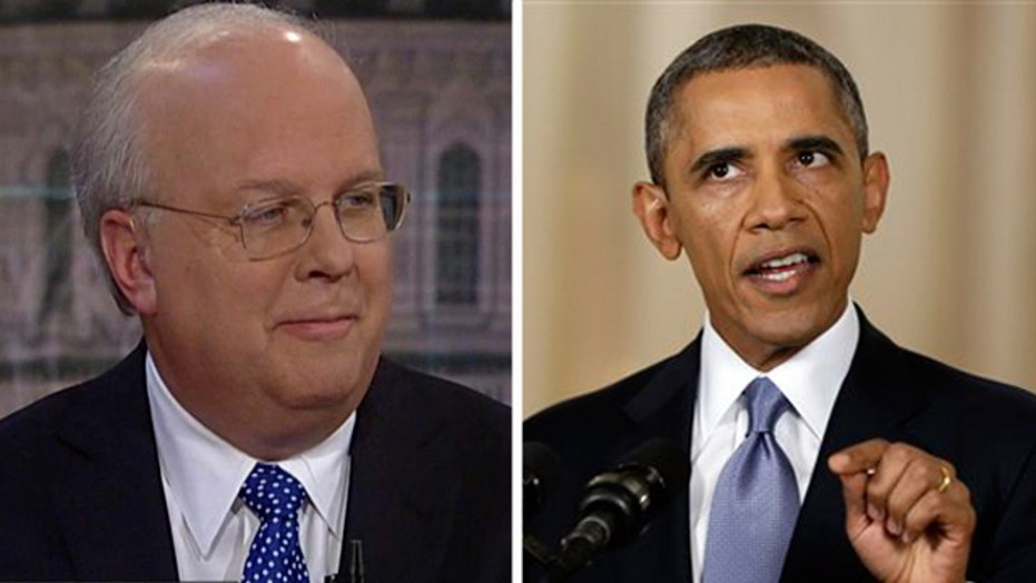 Rove: Obama's speech was 'odd,' took slap at Bush