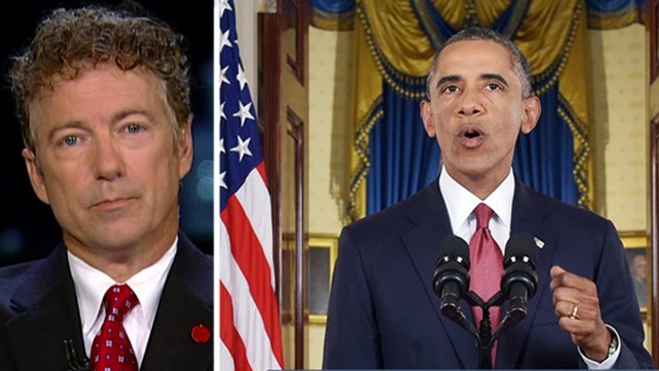 Sen. Rand Paul discusses Obama's ISIS strategy