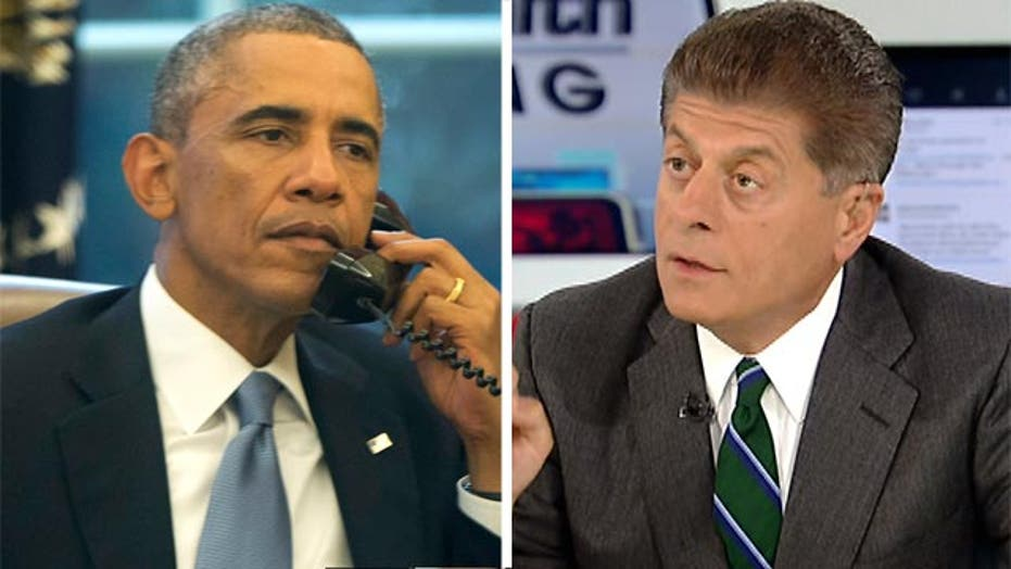 Judge Napolitano breaks down legality of Obama's ISIS plan