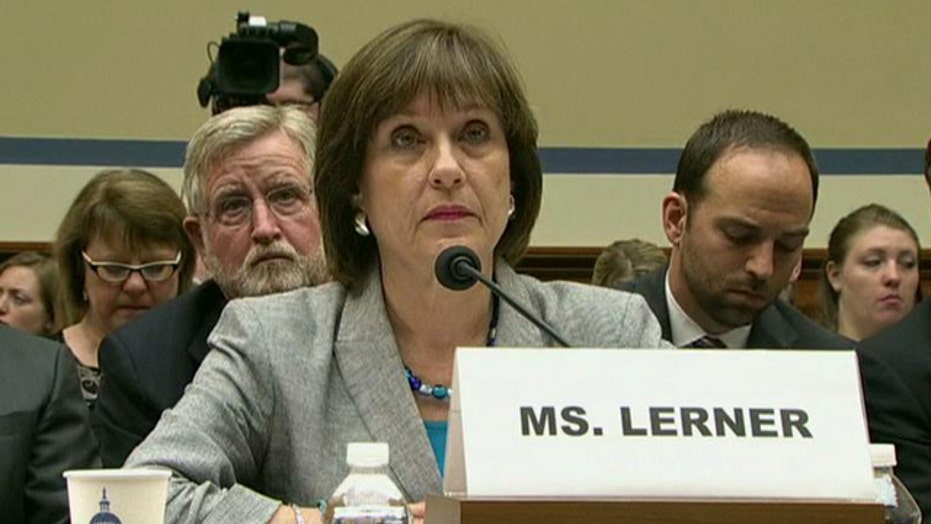 IRS lie exposed by Lois Lerner's own words?