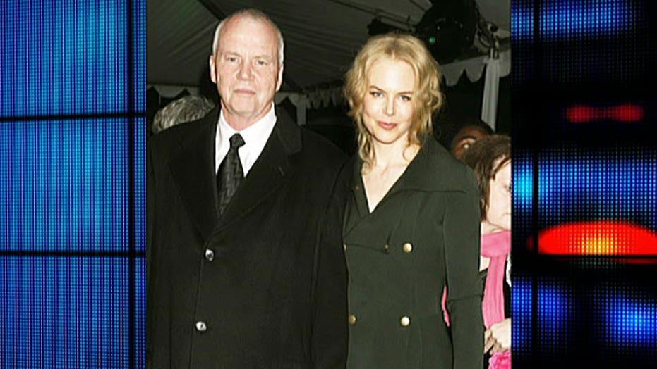 Kidman's father dies suddenly