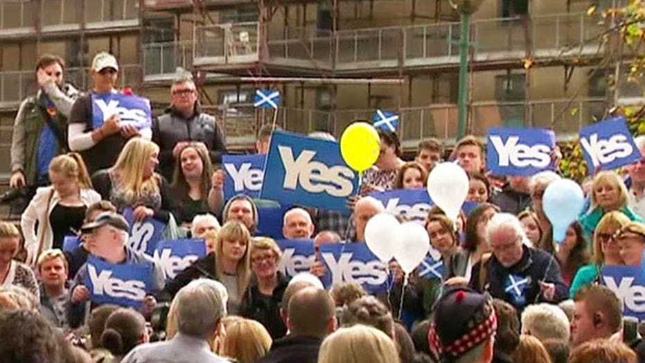 Global significance of Scotland's referendum on independence